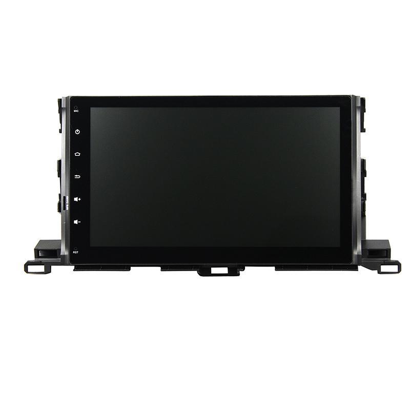 Carro DVD para Toyota Highlander 2015 10.1 polegadas Octa-core Andriod 6.0 com GPS, Bluetooth, controle de volante, 2GB de RAM