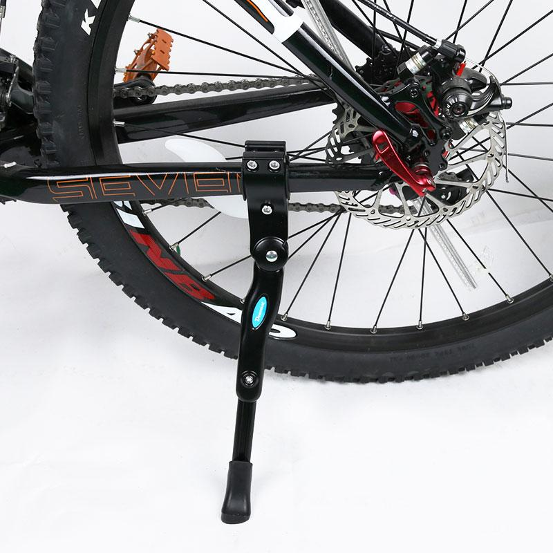 8583c80fb63 2019 Mountain Bike Foot Stand Road Bicycle Support Cycling Rear Parking  Rack Bicycle Aluminium Alloy MTB Bike Side Rack Kickstand From Shanquanwat,  ...