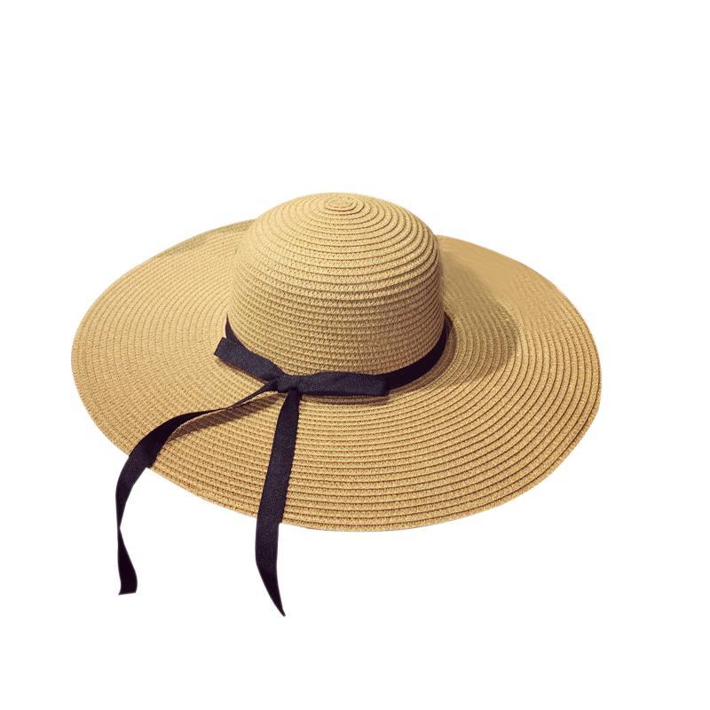 Enjoyfur Frauen Sommer Sonne Hut Unisex Panama Hut 2019 Neue Ankunft Mode Stroh Strand Cap Sonnenhüte