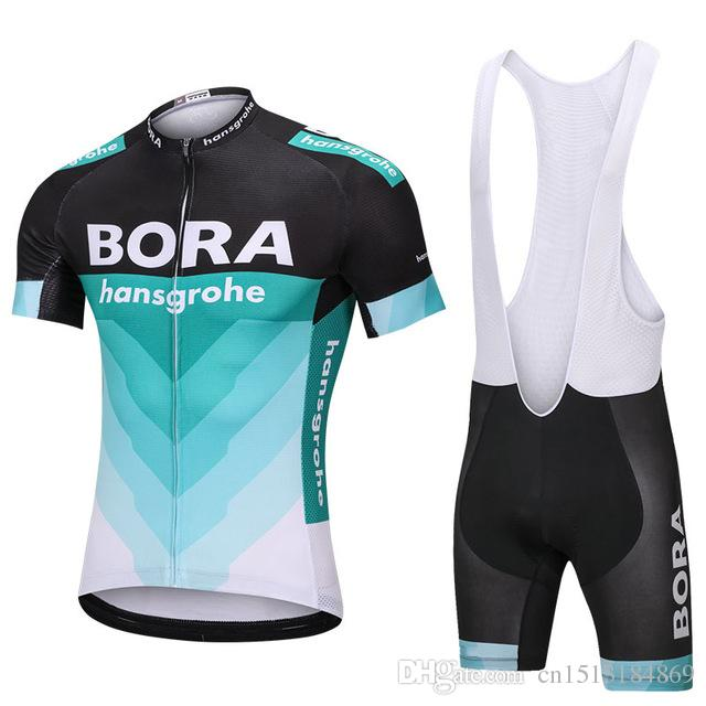 8ad38652a UCI 2018 Pro Team Bora Hansgrohe Summer Cycling Jersey And Bib ...