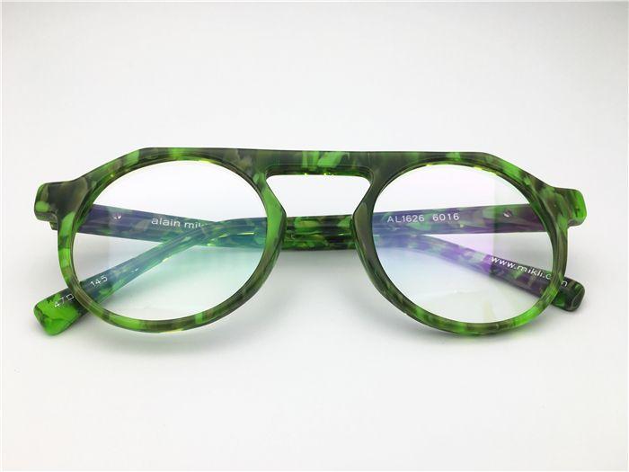 5ae36bb4a9 2019 Alain Mikli Retro High Good Quality Women Men Full Rim Acetate  Spectacle Frame Myopia Designer Glasses Prescription Clear Lens Eyeglass  From Szoptical