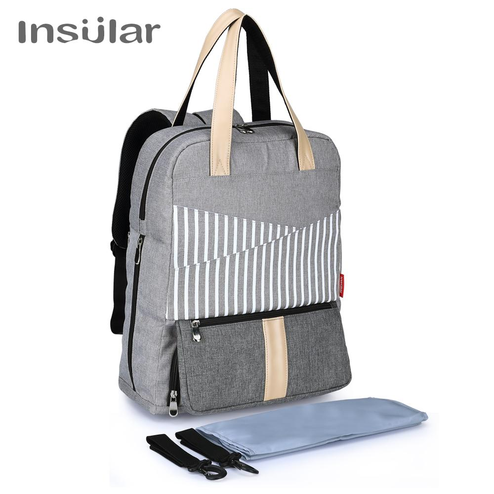 Insular Fashion Diaper Bags Mummy Maternity Nappy Bag Large Capacity Baby  Bag Travel Backpack Designer Stroller Baby Diaper Bags Cheap Diaper Bags  Insular ... 2217d782b4
