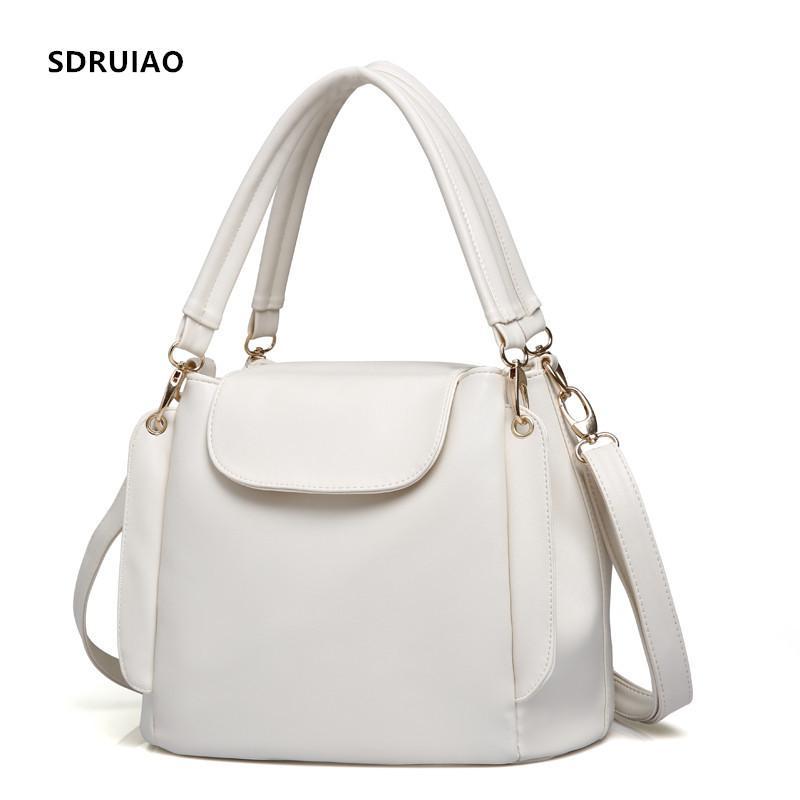 4417515a49 2019 Fashion Hot Handbag Women Casual Tote Bag Female Shoulder Messenger  Bags High Quality PU Leather Handbag With Three Tier Capacity Space  Designer ...