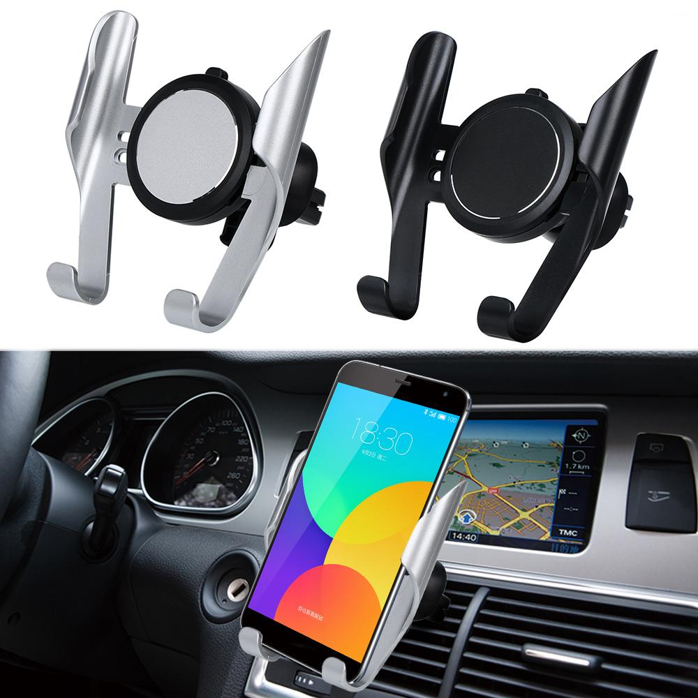 2dae57b0508f6d Universal Car Phone Holder Air Vent Mount Clip Cell Phone Holder For IPhone  360 Degree Rotation Car Phone Car Stand Phone Holder Car From Niumou, ...