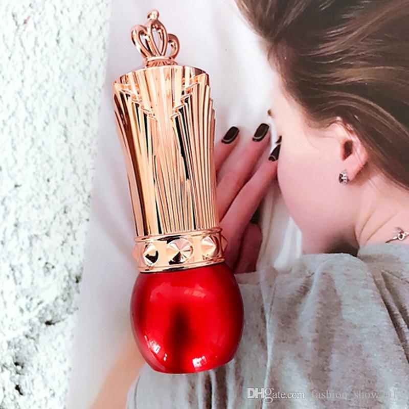 Bunte leere DIY Lippenstift-Röhren Crown Cap Kosmetik Make-up Tube Kosmetikbehälter Mehrwegflasche für Reiseproben