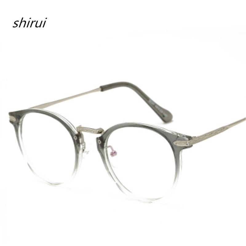 3f8ebbf8fcb 2019 Vintage Men Women Eyeglass TR90 Metal Frame Glasses Round Spectacles  Clear Lens Optical Very Light TR Blue Film Eyeglass Frame From  Marquesechriss