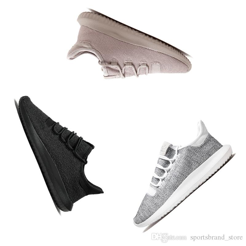 the best attitude ca35c 1fe4d Acheter Adidas Tubular Shadow Boost 2018 Pas Cher Tubular Shadow Rose Ultra  Sneaker HOMMES Et Femmes Mode De Course Chaussures De Sport Triple Noir  Gris ...