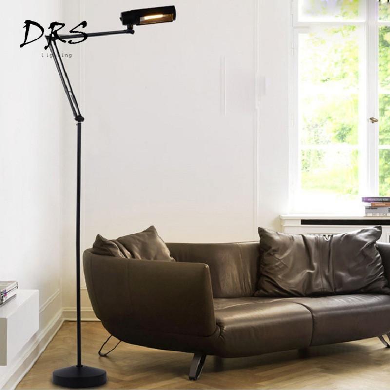 Stehlampe Wohnzimmer | Grosshandel Einfache Klapp Stehlampe Wohnzimmer Led Beleuchtung Eisen
