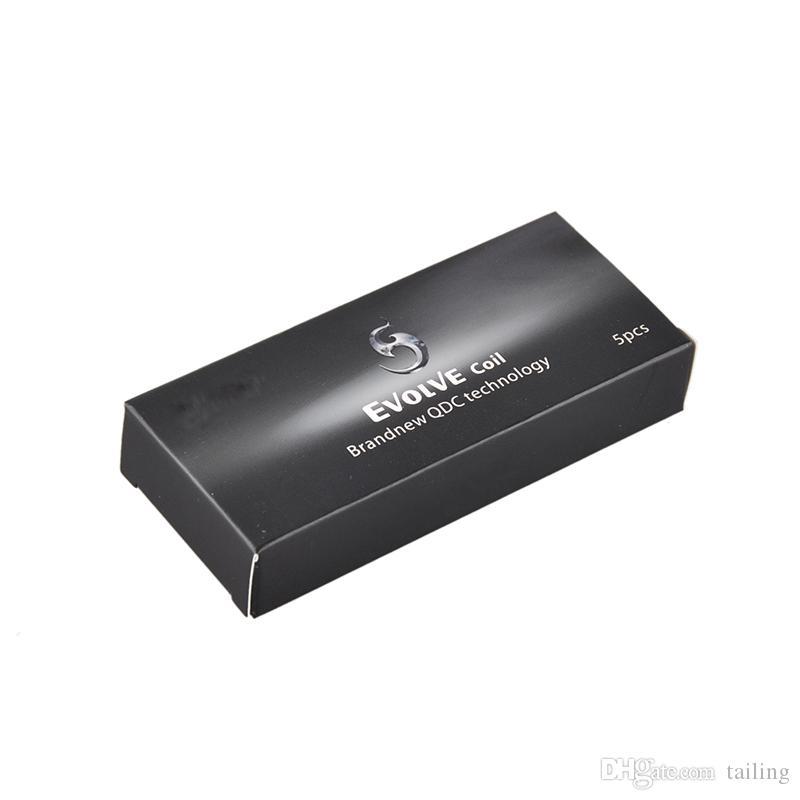 Bobinas Evolve Plus 2019 para el kit Evolve Plus QDC Quartz Dual Coils / pack vs law pre-heat battery 0266126