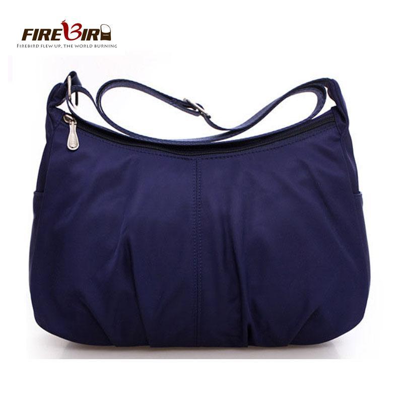 23b3c899402 2019 Fashion Waterproof Nylon Women Messenger Bags Casual Clutch Carteira  Vintage Hobos Ladies Handbag Female Crossbody Shoulder Bags Z303 Handbags  For ...