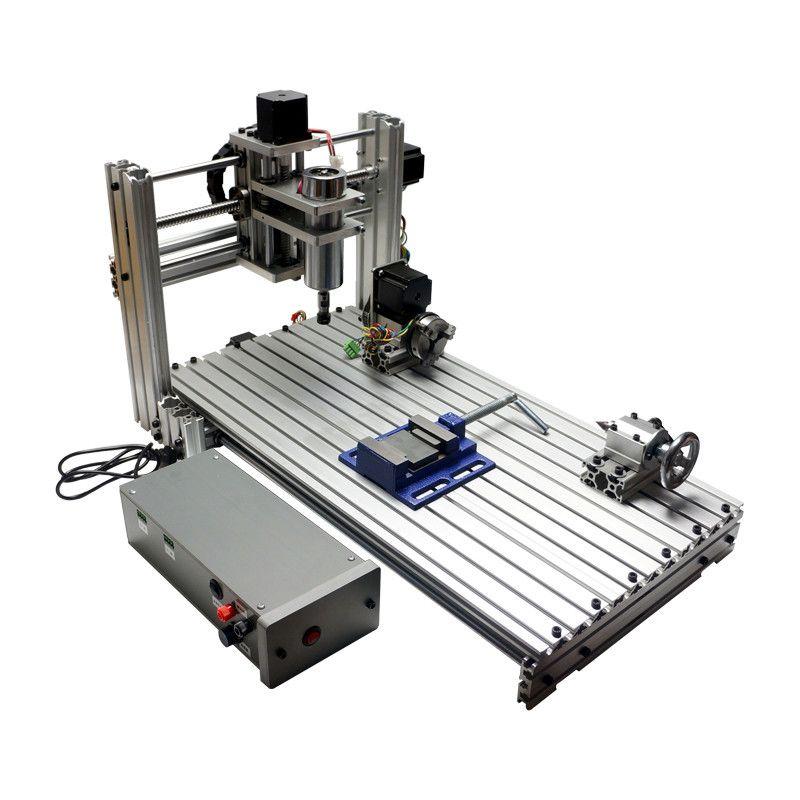 2019 Diy Cnc 3060 Engraving Machine 400w Wood Milling Router 6030