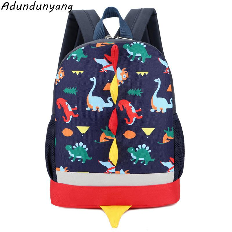 Children Bags for Boys Kindergarten Nylon kids dinosaur School Bags Printing Baby Girl School Backpack Cute Children Backpack