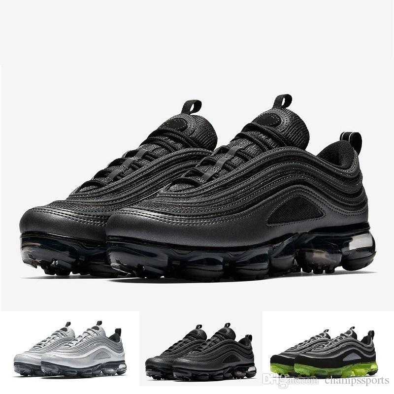 2a66a6b4989a0 With Box TOP SALE Vapor 97 Hybrid 3M Shoes Black Gold Silver Green White  Japan OG Men Women Vapor Sneakers Sports Shoes Sports Shoes For Women East  Bay ...
