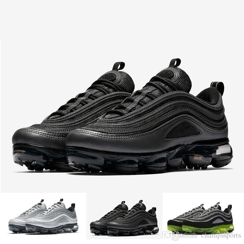 cheap pick a best New Fashion Vapor 97 Shoes For Men Women Silver Gold Bullet 97s Triple-s airs White Black Japan Casual Sneakers Size 36-46 Cheap Sale buy cheap best sale new for sale hazvXAks7E
