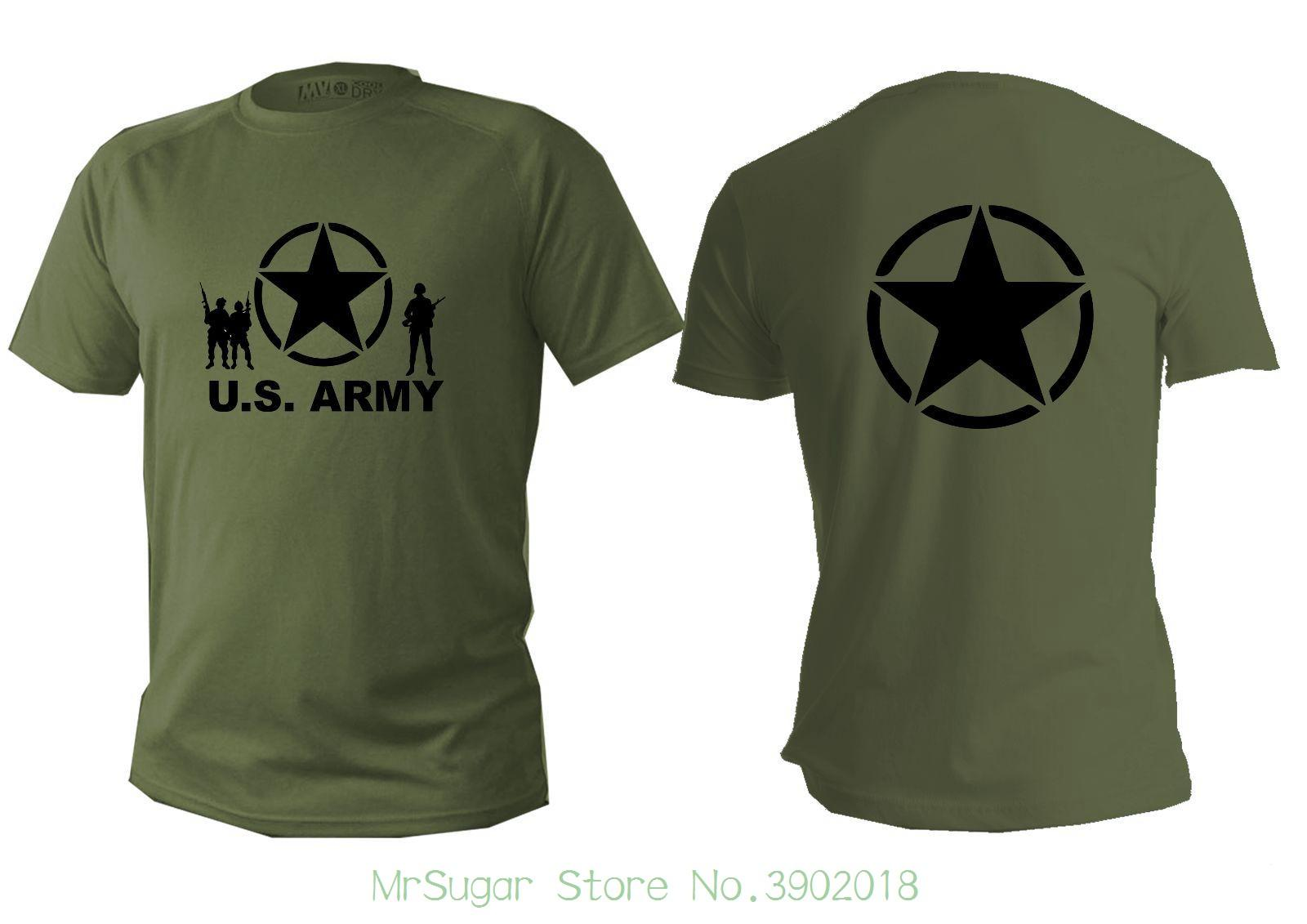 T Shirt Mens Dry Fit Short Sleeve Green Olive Us Army Military Man Usa  Shirts Summer New Men Cotton T Shirt T Shirt Online T Shirt Designer From  ... ff48f0817a1