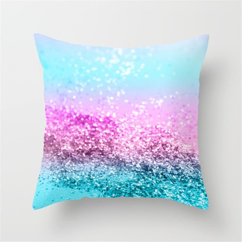 Amazon Fashion Peach Fur Simple Colorful Bedding Pillow Cover