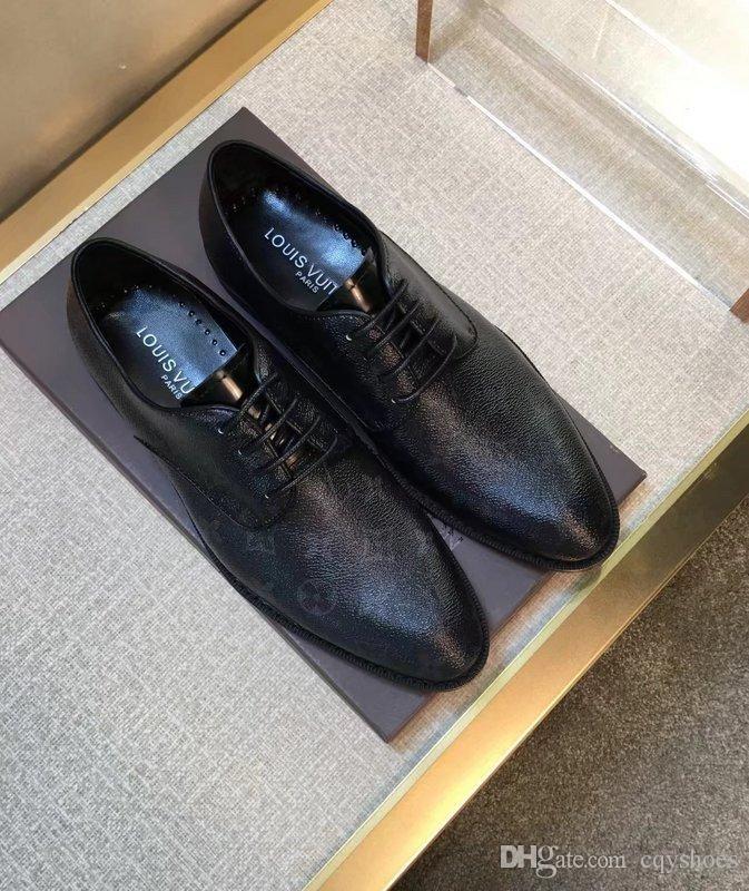 Leather Brand Men S Office Shoes Men S Best Dress Shoes Fashion Hot