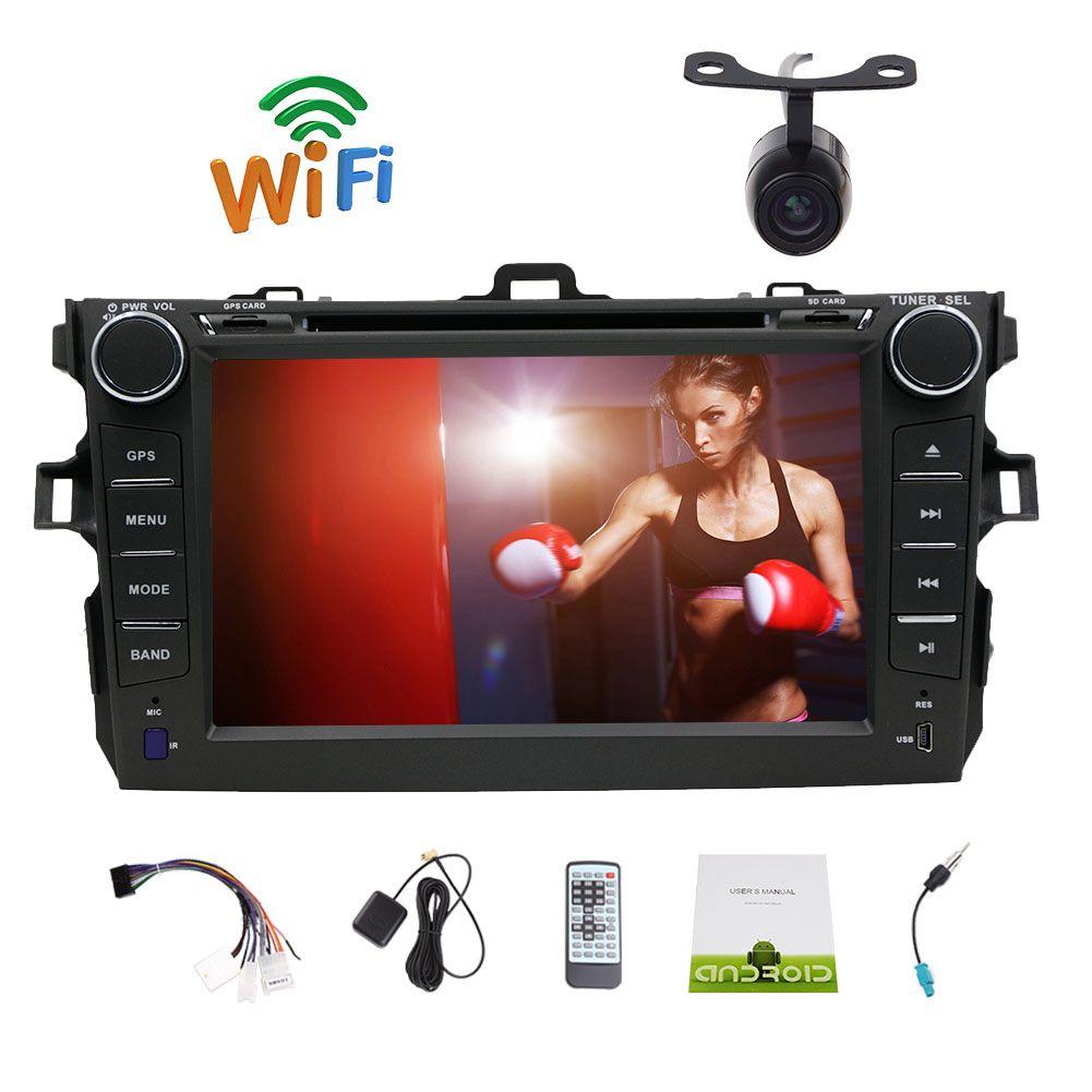 029e2fca0 7 Android 6.0 Marshmallow Double 2 Din Car Stereo GPS Navigation Headunit  Capacitive Touchscreen Car DVD Player Navi AM FM Radio Bluetooth Dvd Player  ...