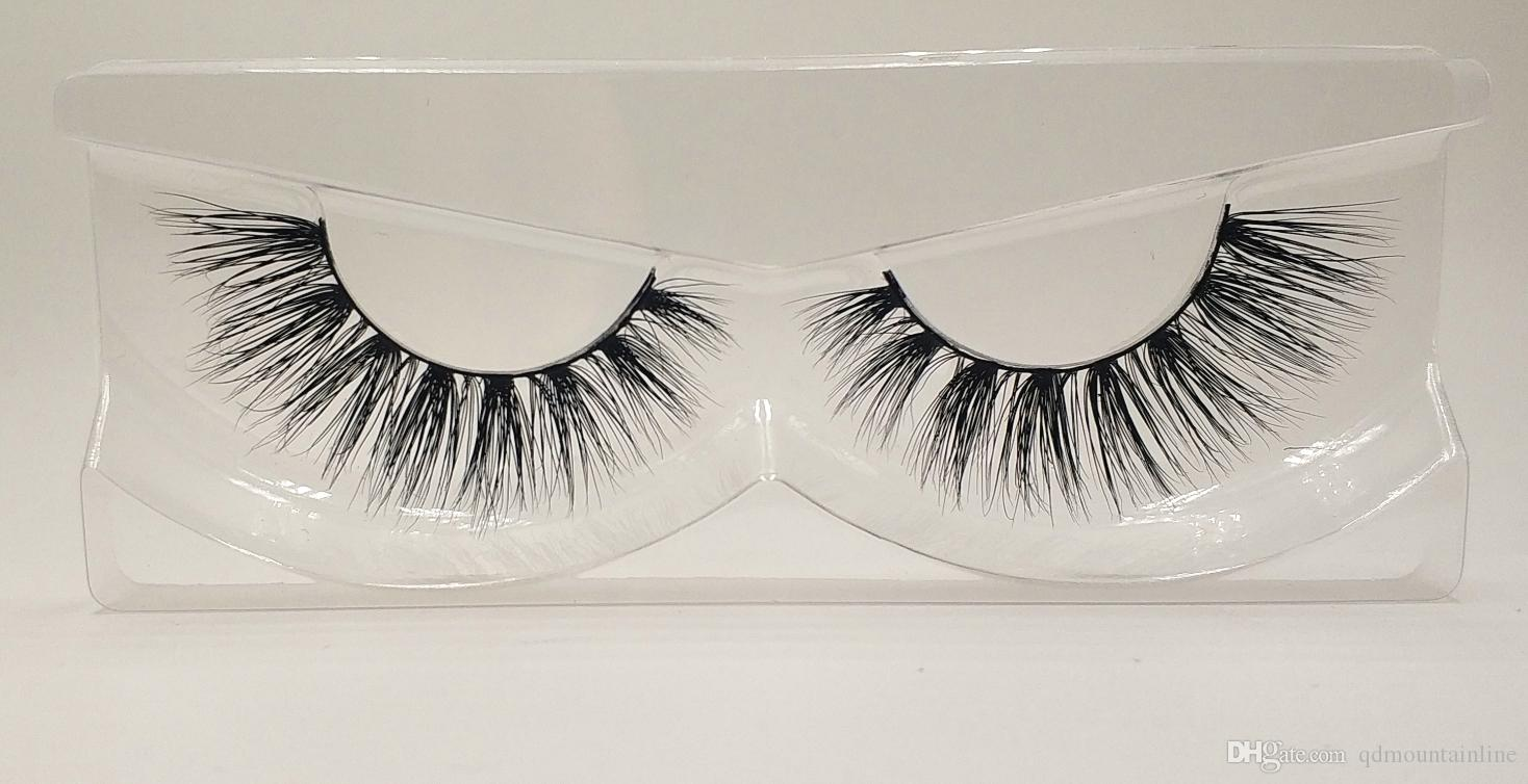 d9898284a92 3D Mink False Eyelashes 100% Mink Fur Long Thick Hand Made Reusable Eyelashes  Natural Pack MTL013 Double Eyelashes Eyelash Extensions Cost From ...