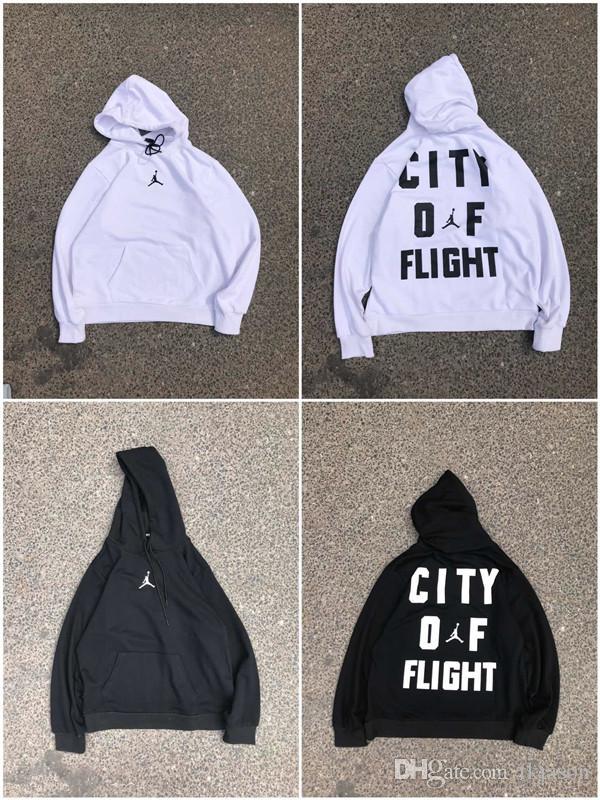 9dd669d7ef2 2018 City OF Flight Cotton Printed Hoodie Luxury Brand Hooded Jacket ...
