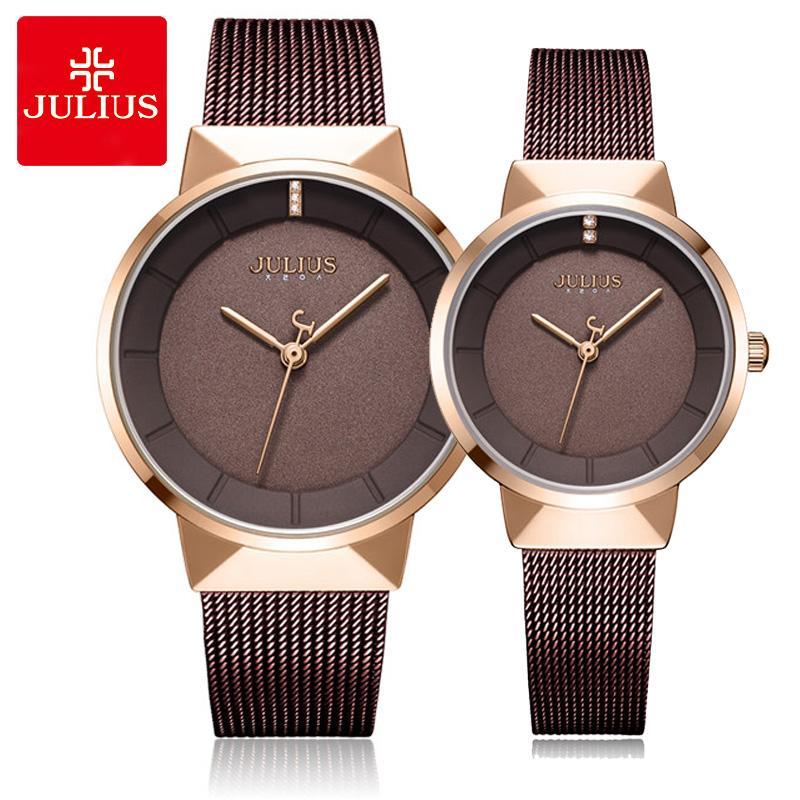 New Thin Julius Men S Watch Women S Watch Couple Lovers Clock