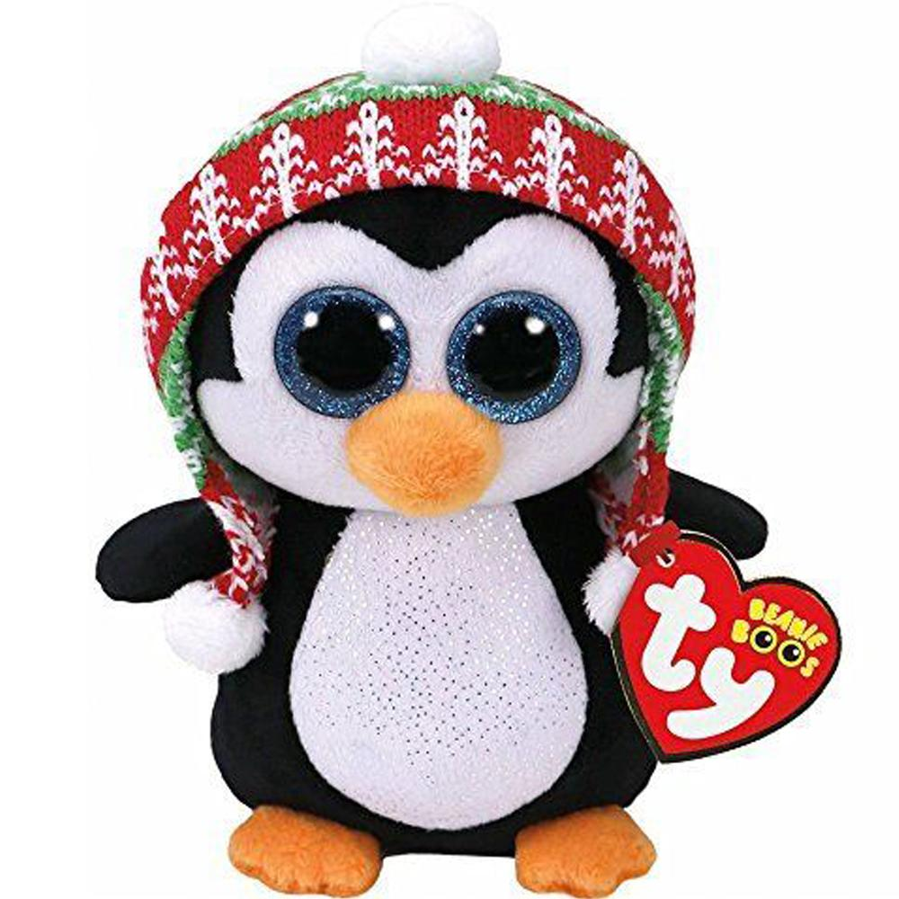 d15b5d0c45f 2019 Ty Beanie Boos Plush Animal Doll Penelope Christmas Penguin Soft  Stuffed Toys Meg With Tag 10 25cm From Henryk