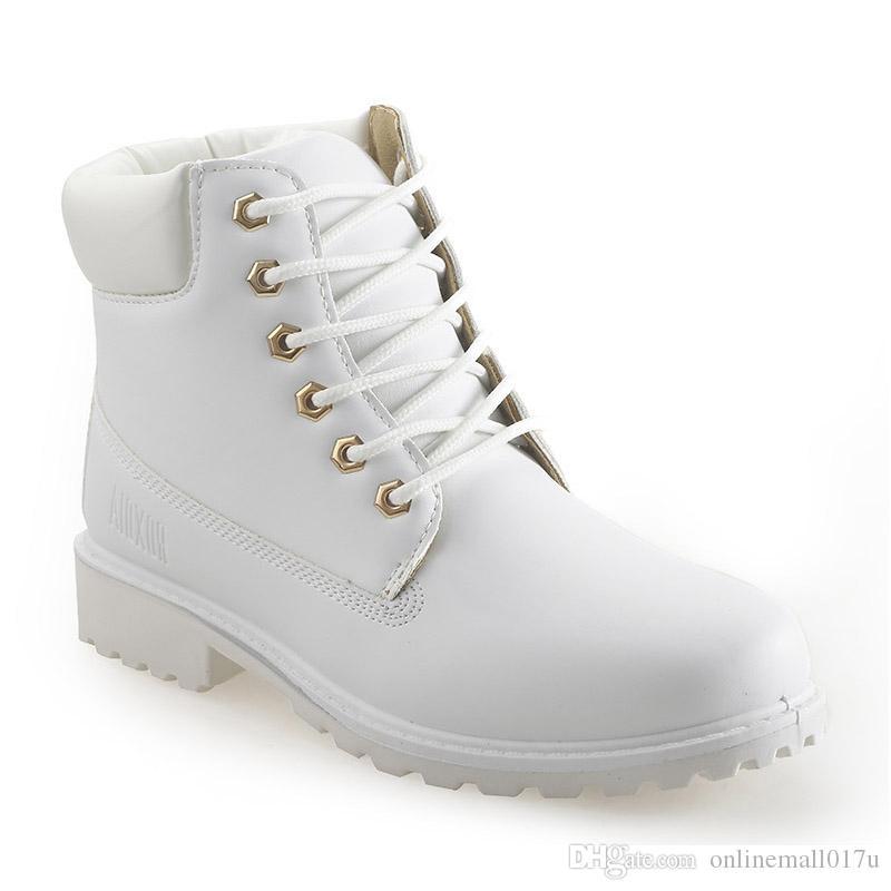 e66433cccd Compre Otoño Invierno Mujeres Botas De Tobillo Nuevas Botas De Nieve Mujer  De Moda Para Niñas Zapatos De Trabajo De Damas Más Tamaño 36 41 A  40.21  Del ...