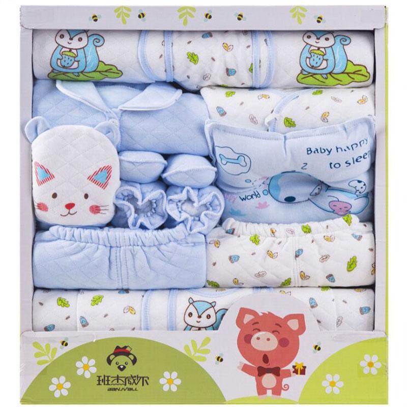 Grosshandel 100 Neugeborenen Geschenk Baby Kleidung Set Baumwolle