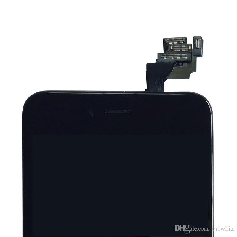 Einfach zu installierender LCD-Bildschirm für das iPhone 6 Plus-Komplettsatz mit Frontkamera + Ohrlautsprecher + Näherungssensor + Reparaturwerkzeuge