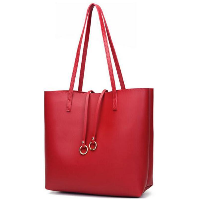 c268561df22b 2018 New High Quality PU Modern Stylish Women Shoulder Bag Female Retro  Daily Causal Totes Lady Elegant Shopping Handbag Cute Purses Shoulder Bags  For Women ...