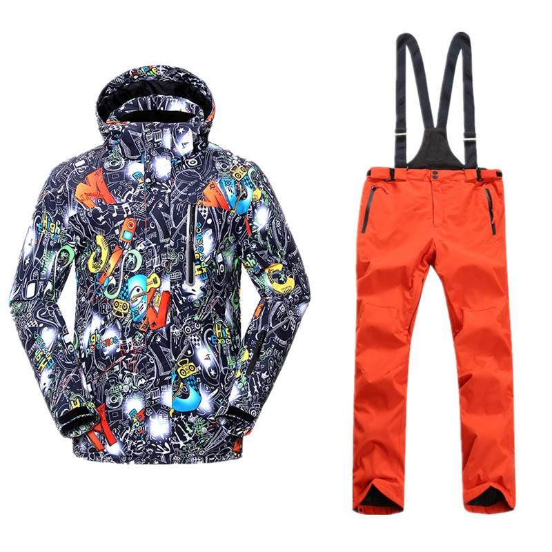 High Experience Ski Suit For Men Snow Suits Snowboarding Sets Ski ... b08636760