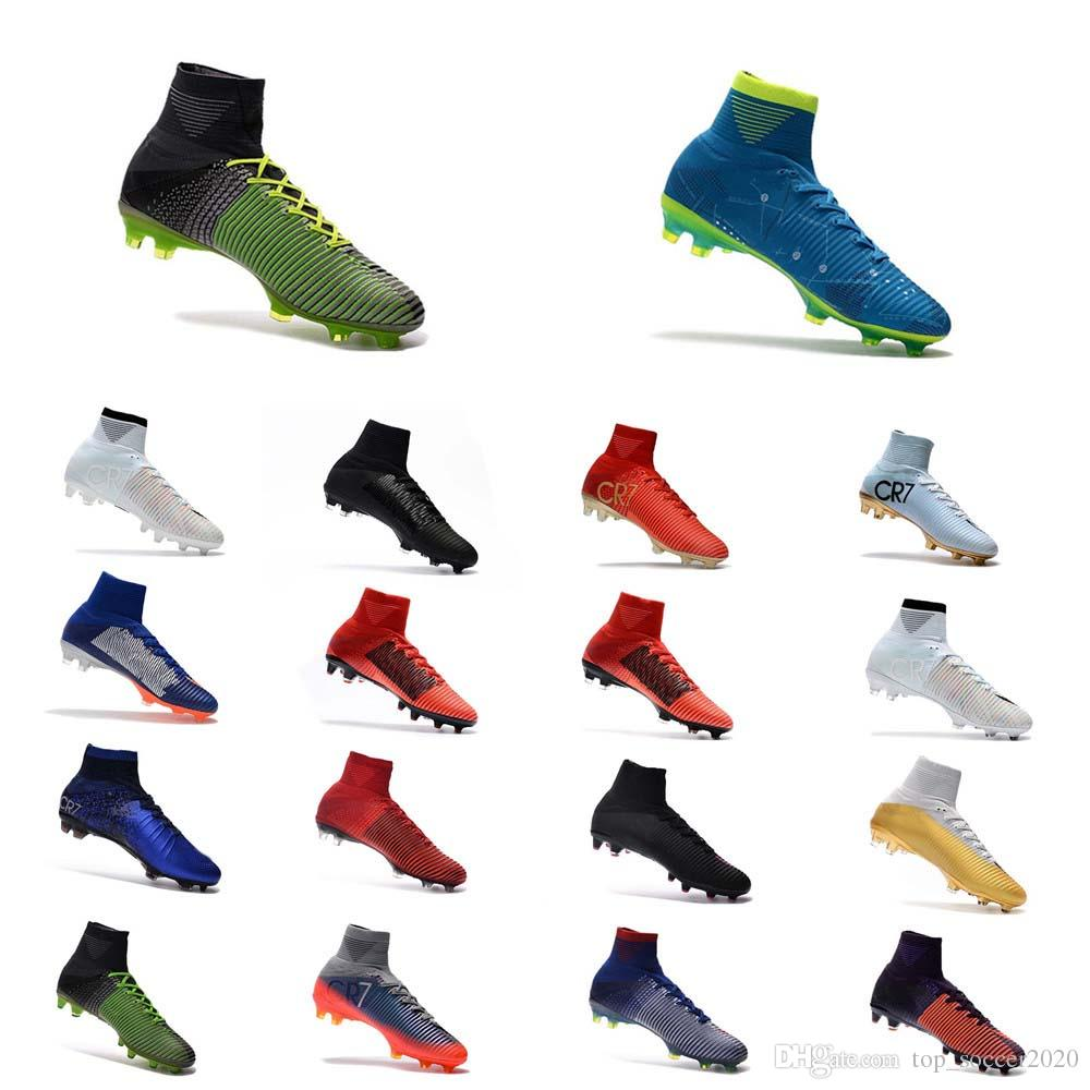 Cr7 New Shoes 2020 2019 Hots Sale Top Quality 2018 CR7 Football Boots Size 35 45