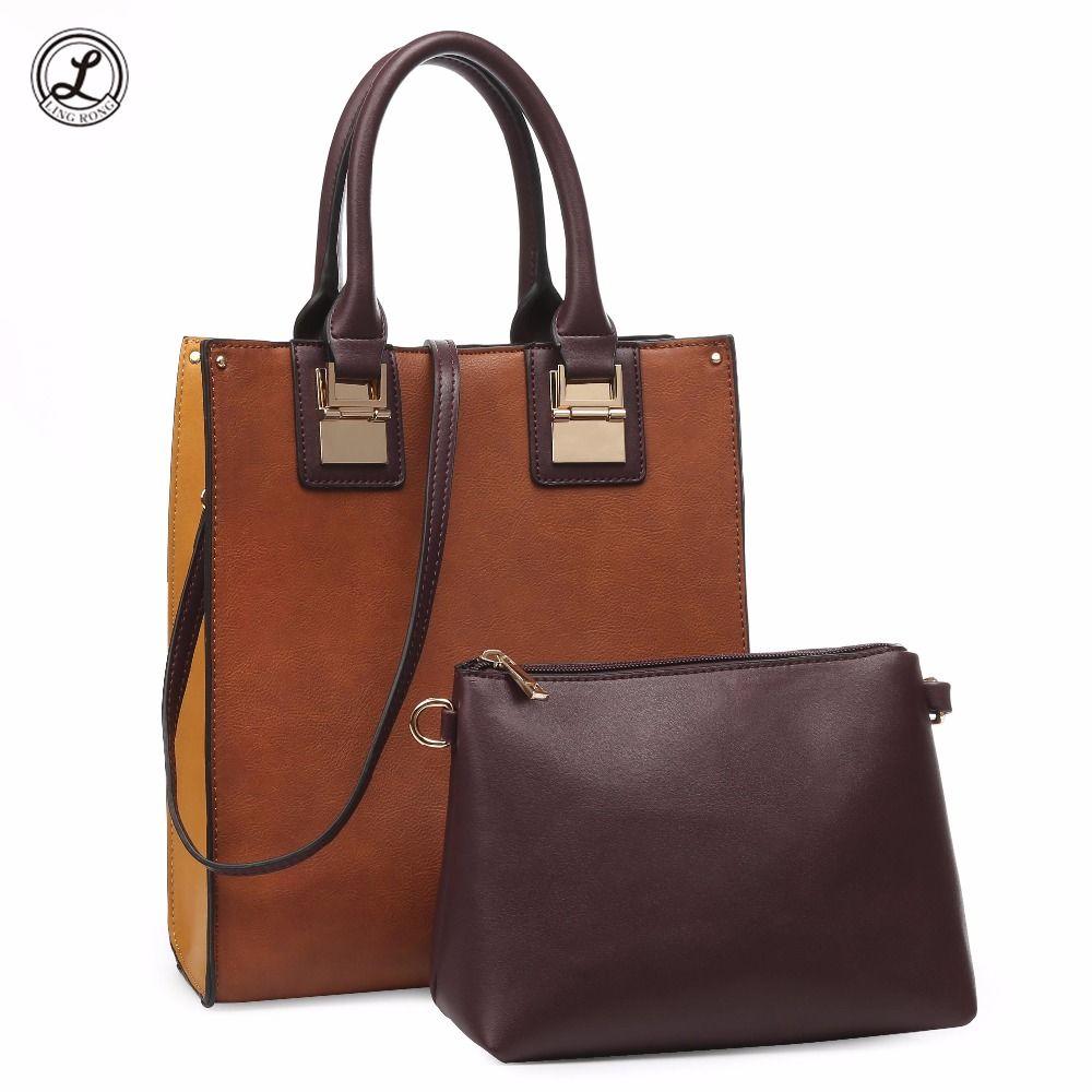 462d13ae346 Cow Leather Women S Handbags Set Women Tote Bag Lady Shoulder Crossbody  Bags Top Handle Bags Fashion Ladies Bolsa Feminina Sac Evening Bags Handbag  Sale ...