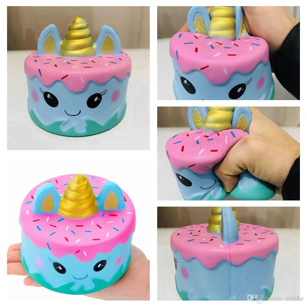 Glorious Kawaii Tiger Squeeze Jumbo Squishy Bread Soft Scented Cake Toys Doll Gift Super Slow Rising Animal Phone Straps Mobile Phone Straps