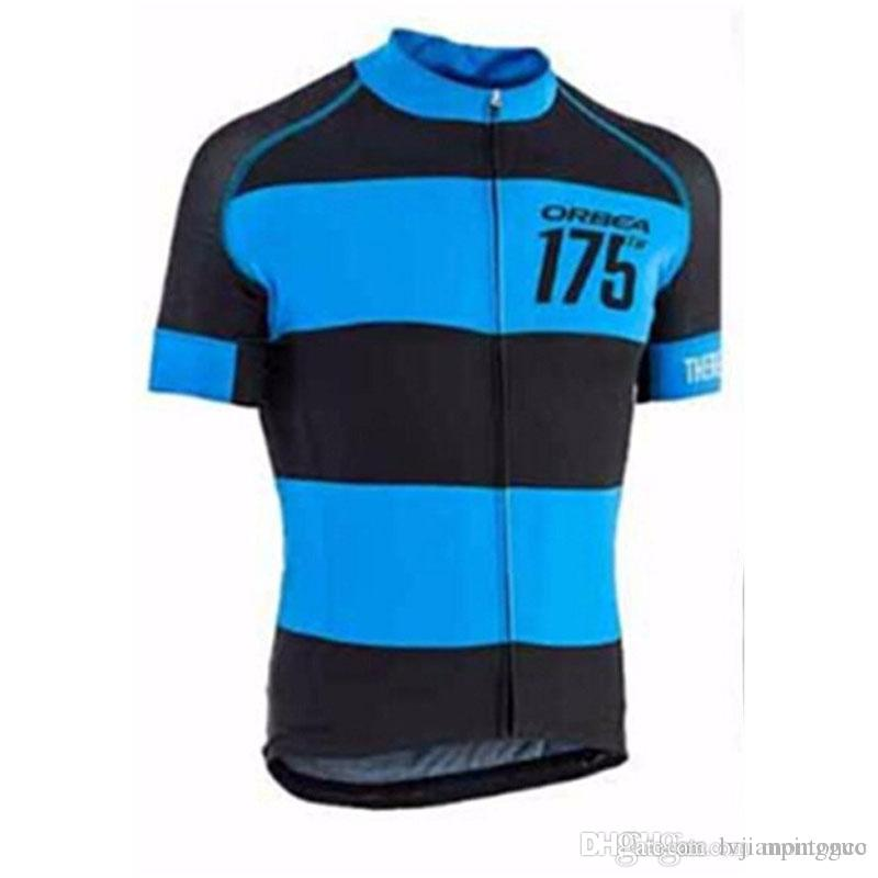 2018 ORBEA Team Cycling Short Sleeves Jersey Summer For Men Bicycle ... d6420a296