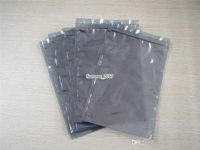 Top Antistatiktasche ESD Antistatische Taschen Statikfreie Elektronikverpackung Polybeutel Kunststoffabschirmung Verpackungsbeutel 13 * 18cm