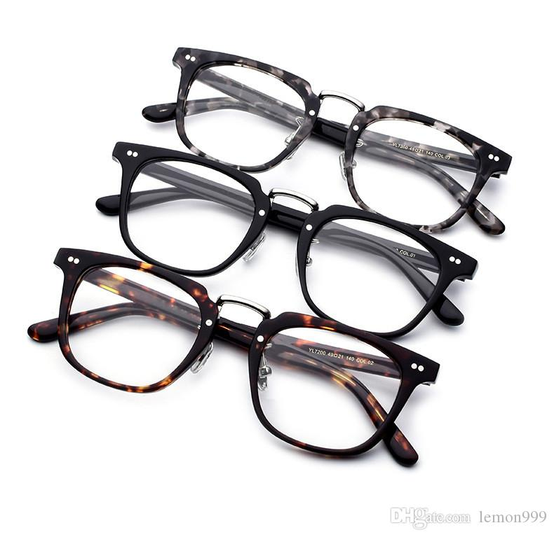 2018 Square Eyeglasses Frame Men Optical Glasses Frames Women ...