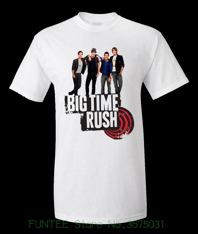 Compre T Das Mulheres Big Time Rush 10 Deve Ter T Shirt Poliéster Para Lady  Hip Hop Camiseta Mulheres De Funteestore 69e07c681b5fc