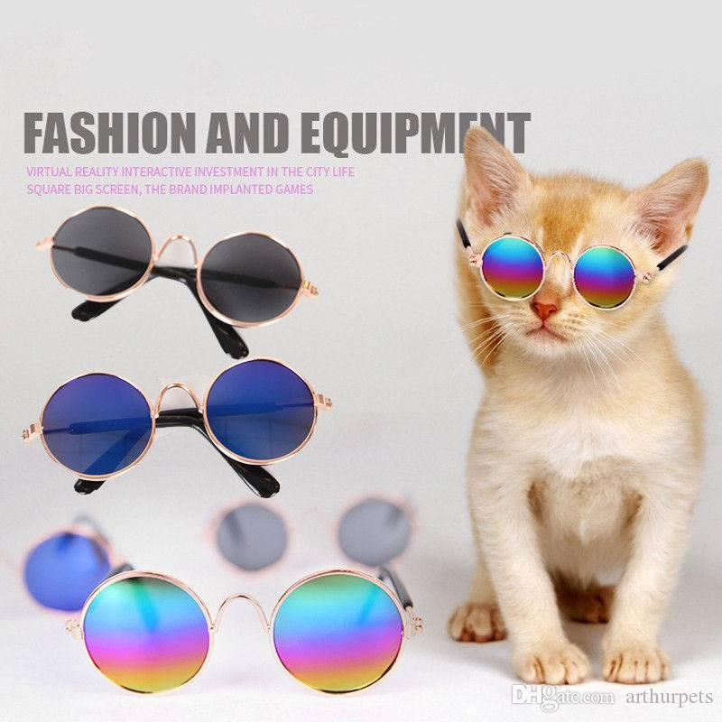 ab1eb40c6e8c 2019 Hot Cool UV Protection Dog Cat Pet Glasses For Pet Little Cat Dog Eye  Wear Puppy Sunglasses Photos Prop Fashion From Arthurpets