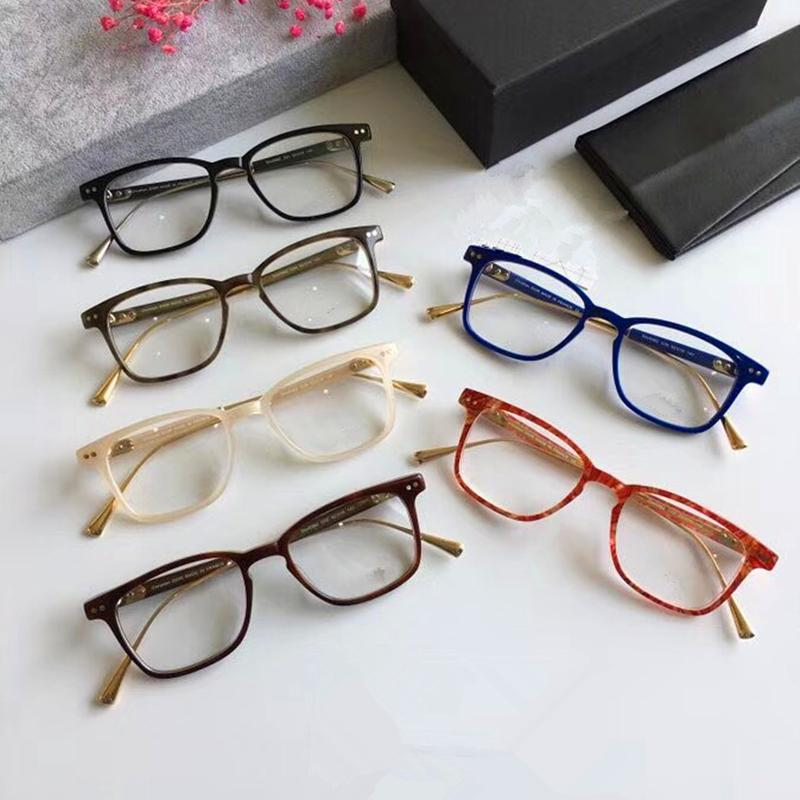 a7c355b052 2019 High Quality Vintage Alloy Acetate Square Optical Eyeglass Frame 0362  Myopia Eyewear Women Men Original Case Prescription Lens From Shuidianba