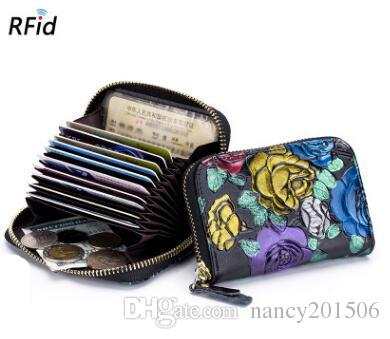 Wholesale new genuine leather women business card holder wallet bank wholesale new genuine leather women business card holder wallet bank credit card case id holders women cardholder my wallet womens wallets from nancy201506 colourmoves
