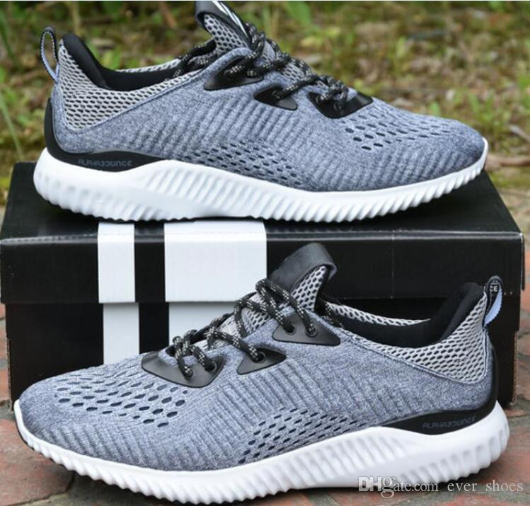 cheap USA stockist discounts cheap online Alpha Bounce 2 Running Shoes Black grey Kanye West ultra boost Women Mens Trainers alphabounce sports Sneakers designer chaussures zapatos discount wiki the cheapest for sale discount supply 7e7pZeFIFW