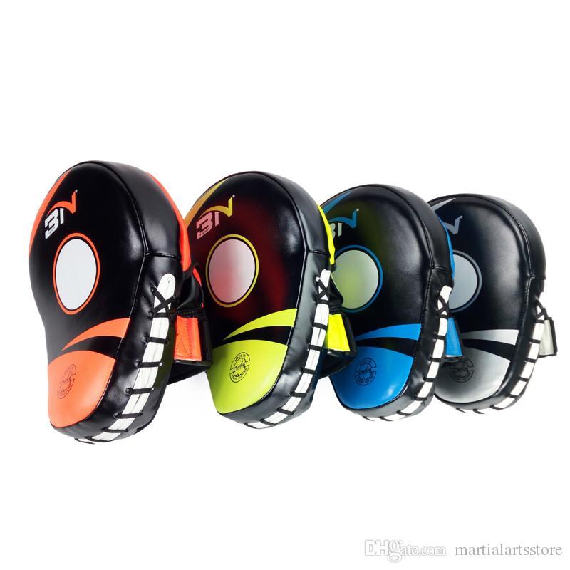 muay thai boxing shield style kicking pads professional focus pads sandbag punch pads focus mitt for kick fighting