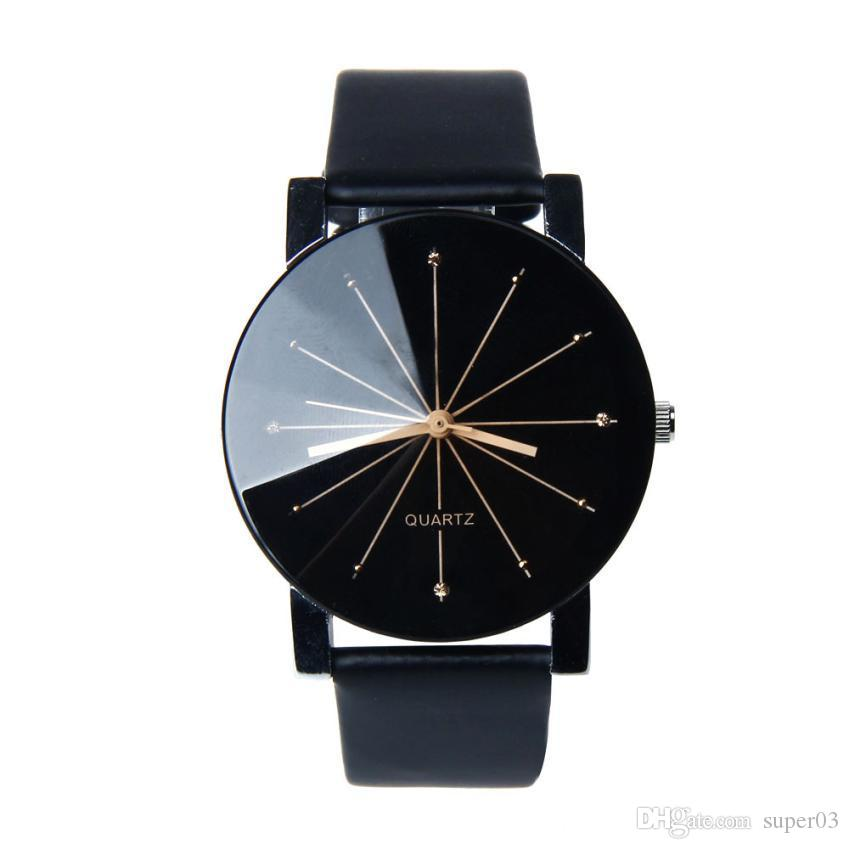 572cb3b20ff Relogio Feminino Women Analog Quartz Dial Hour Casual Watch Leather  Wristwatch Reloj Mujer Female Dress Clock Lady Gift 2018 Online Buy Watch  Buy Wrist ...