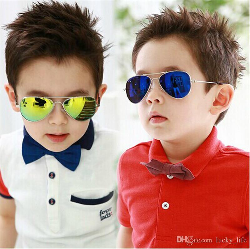 62134b5bd5 Pro Fashion Baby Boys Kids Sunglasses Piolt Style Brand Design Children Sun  Glasses Eyewear 100%UV Protection Designer Eyeglasses Womens Sunglasses  From ...