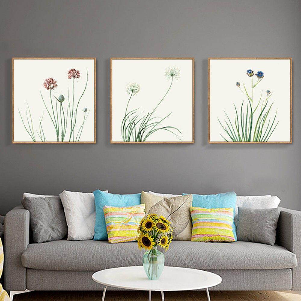 Großhandel Moderne Kleine Frische Blumen Und Pflanzen Works Wall ...