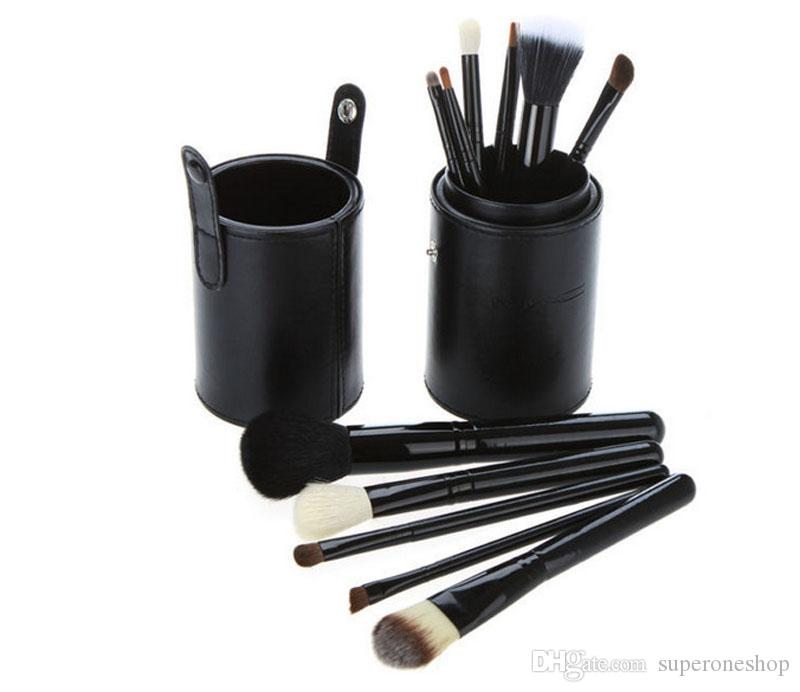 2018 New Makeup Brushes Set+Cup Holder Professional Makeup Brush Set Cosmetic Brushes With Cylinder Cup Holder