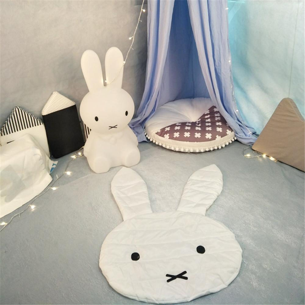 Cute Rabbit Crawling Blanket Carpet Floor Baby Bunny Play Mats