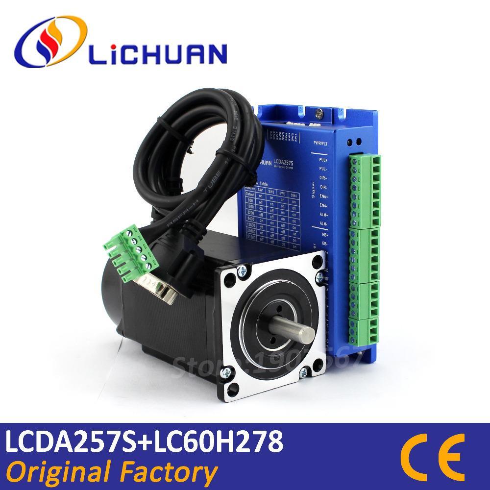 2018 nema 24 closed loop stepper motor 4 wires 326oz in 2 3n m d 8mm rh dhgate com