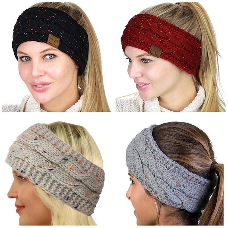 Großhandel Cc Gestrickte Stirnband Frauen Mädchen Winter Headwrap ...